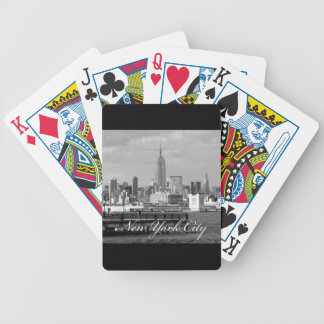 Empire State New York City Bicycle Playing Cards