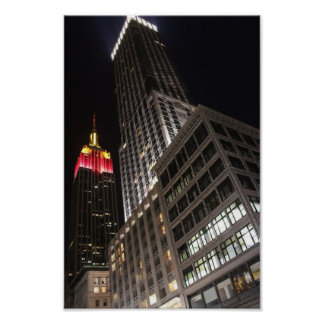 Empire State Of Lights Poster