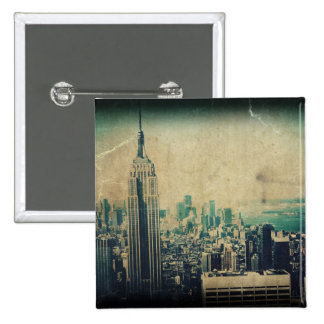 Empire State of Mind 2 Inch Square Button