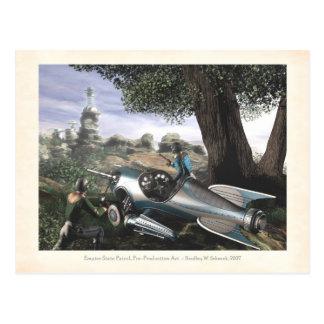 Empire State Patrol Concept Art Postcard