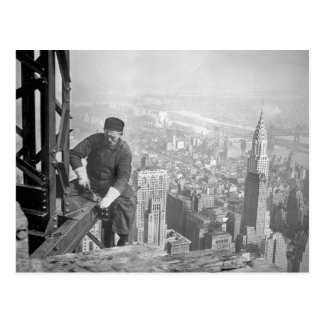 Empire State Steelworker, 1936 Postcard