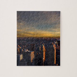 empire state sunset jigsaw puzzle