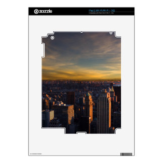 empire state sunset skin for the iPad 2