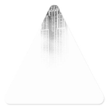 giftsnerd Empire State Triangle Sticker