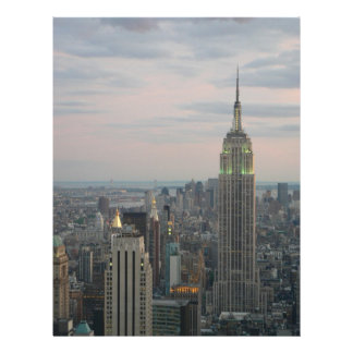 Empire State Twilight Letterhead