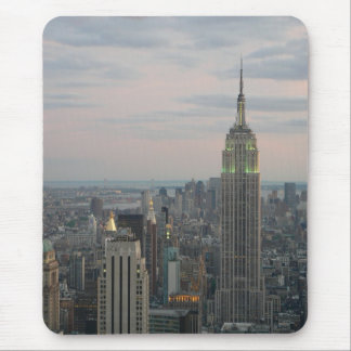 Empire State Twilight Mouse Pad