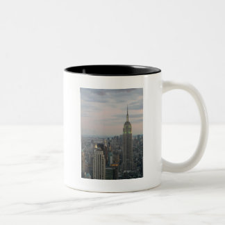 Empire State Twilight Two-Tone Coffee Mug