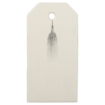 giftsnerd Empire State Wooden Gift Tags