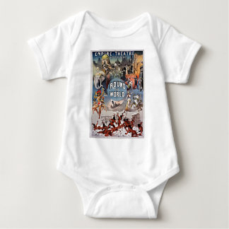 Empire Theater Round the World Baby Bodysuit