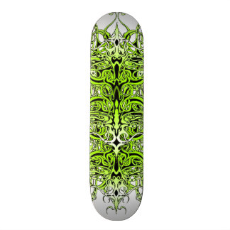 Empire Tribal Tattoo skateboard - green
