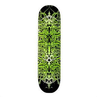 Empire Tribal Tattoo skateboard - green black