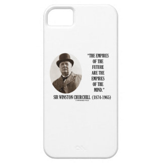 Empires Of The Future Are The Empires Of The Mind iPhone SE/5/5s Case