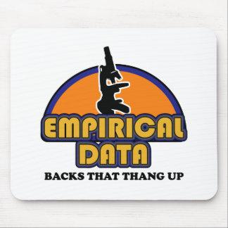 Empirical Data Backs That Thang Up Mouse Pad