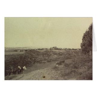 Emplazamiento de la obra de UCSF, 1895 - notecard Tarjeta Pequeña