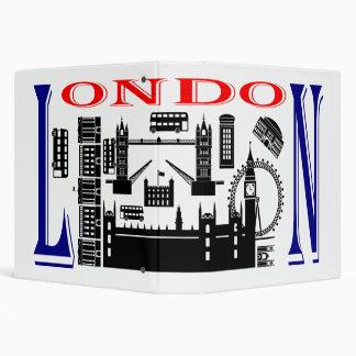 """Emplazamientos turísticos de Londres Carpeta 1 1/2"""""""