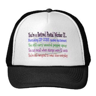 Empleado de correos jubilado--Camisetas y regalos  Gorro De Camionero