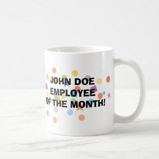 Empleado de la taza del mes