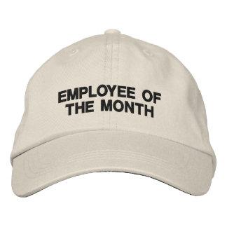 Empleado promocional del márketing del negocio del gorra bordada