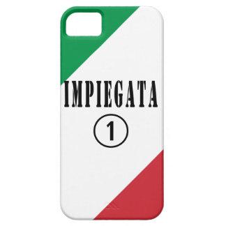 Empleados italianos para ella: Uno de Impiegata iPhone 5 Carcasa
