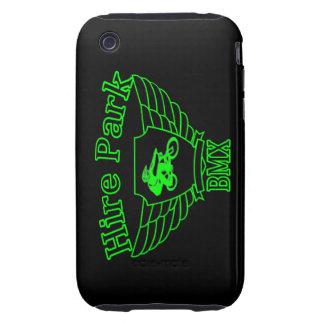 Emplee la caja dura del iPhone 3G/3GS de la Tough iPhone 3 Cárcasa