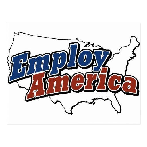 Emplee los productos de América Postal