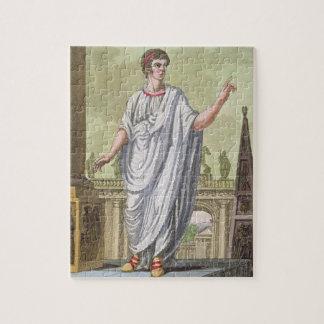 Empleo de reivindicación del ciudadano romano, de  puzzle con fotos