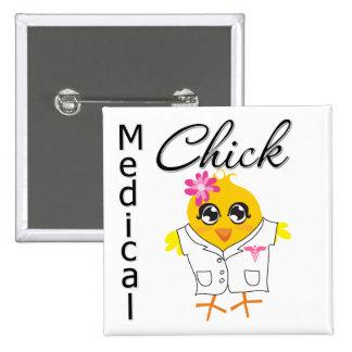 Empleo médico del polluelo pin cuadrado