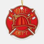 Empleos - bombero - SRF Adorno De Navidad