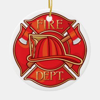 Empleos - bombero - SRF Adorno Redondo De Cerámica