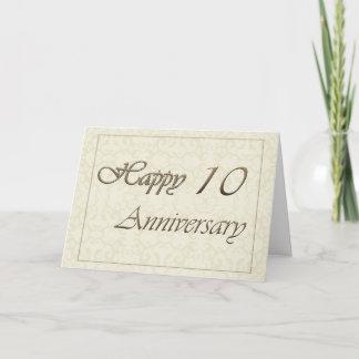 Employee 10th Anniversary New Classic Card