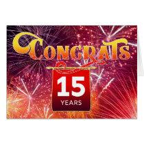 Employee 15th Anniversary - Celebration Fireworks