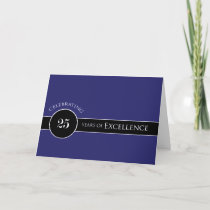 Employee 25th Anniversary Circle of Excellence Card
