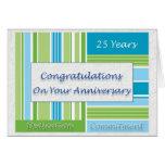Employee 25th Anniversary Greeting Card