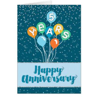 5 year employee anniversary