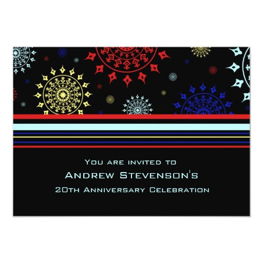Employee Anniversary Party Invitations
