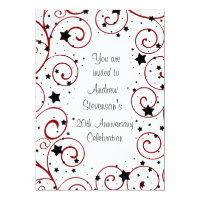 Employee Anniversary Party Invitations