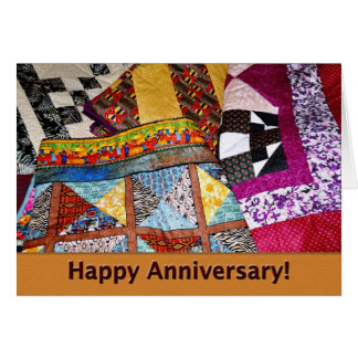 Employee Anniversary Quilts Card
