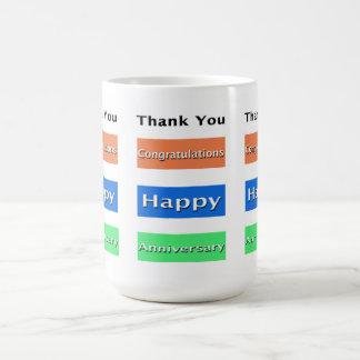 Employee Anniversary Simply Elegant Coffee Mug