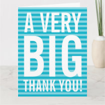 Employee appreciation business thank you card