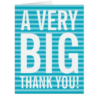 Employee appreciation business thank you card