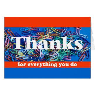 Employee Appreciation Card