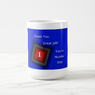 Employee Appreciation Thank You Great Job Coffee Mug