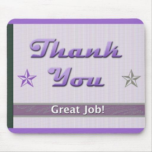 Employee Appreciation Thank You Mousepads