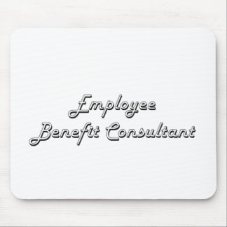 Employee Benefit Consultant Classic Job Design Mouse Pad