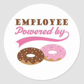 Employee Gift (Donuts) Stickers