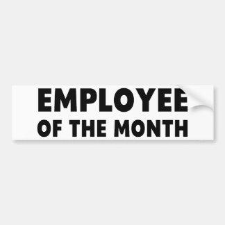 Employee Month Car Bumper Sticker