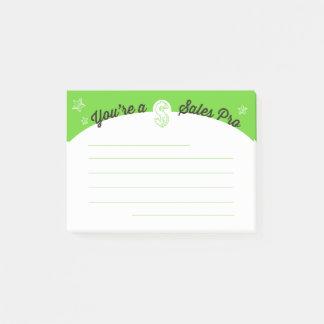 Employee motivation sales pro post-it post-it notes