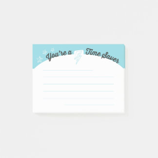 Employee motivation time saver post-it post-it notes