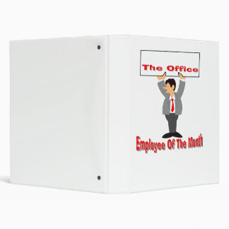 Employee Of The Month 3 Ring Binder