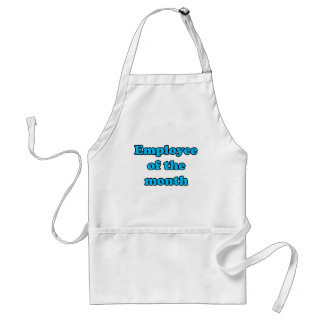employee of the month apron